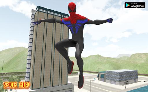 Spider Hero Battle Rope Master Rescue Mission screenshot 2