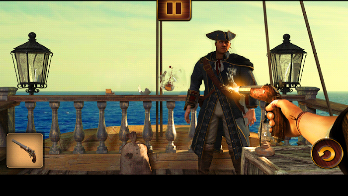 Pirates vs. Zombies- screenshot