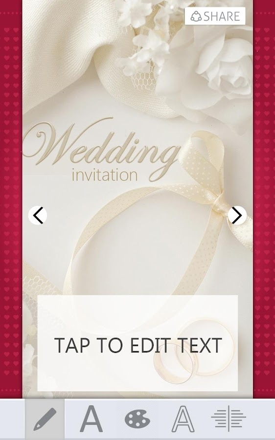 Wedding Invitations Card Maker Android Apps on Google Play – Invitations Card
