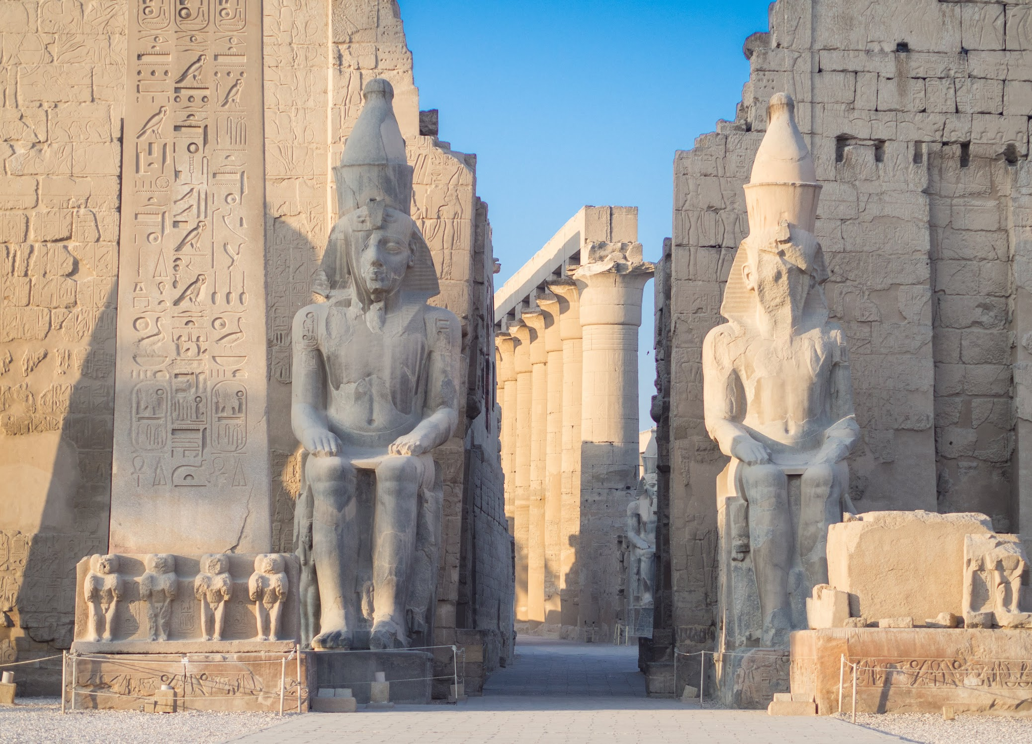 Guardians of Luxor Temple