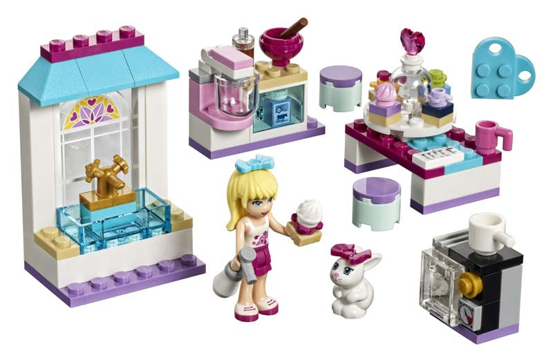 Contenido de Lego® 41308 Pasteles de Amistad de Stephanie