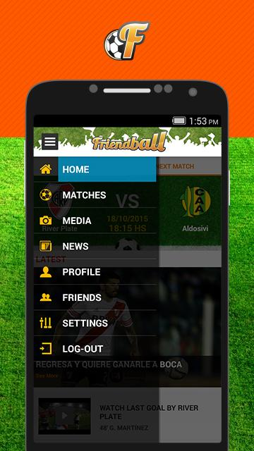 Friendball Football- screenshot