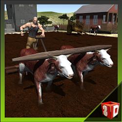 Bull Cart Farming Simulator