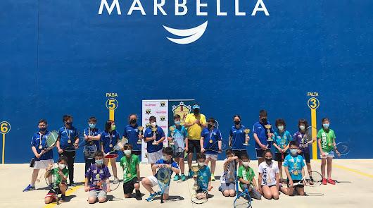 Almería, en el Circuito Andaluz Frontenis
