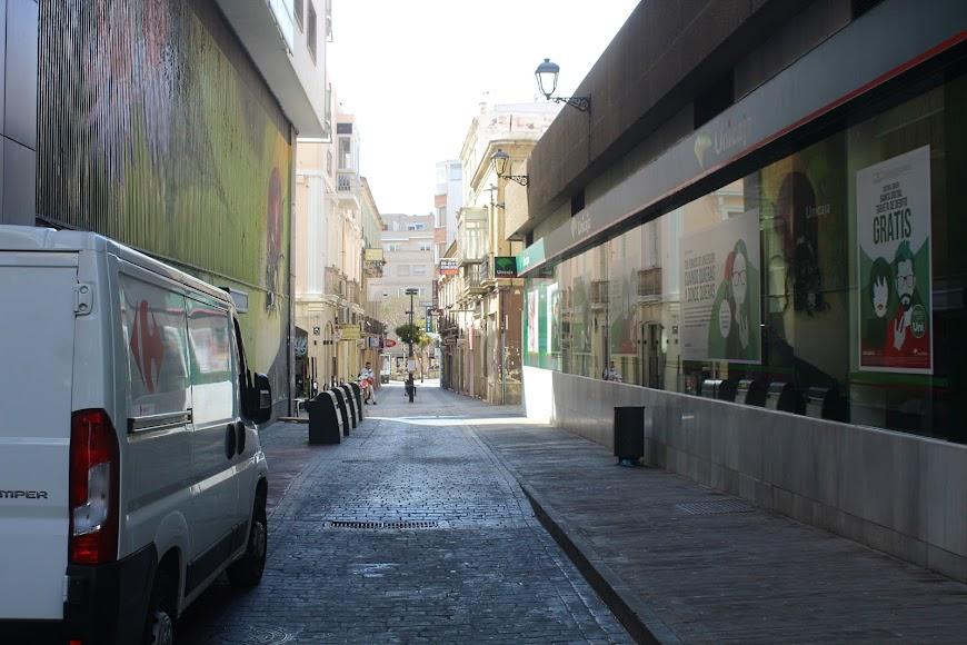 Aspecto de la calle Castelar.