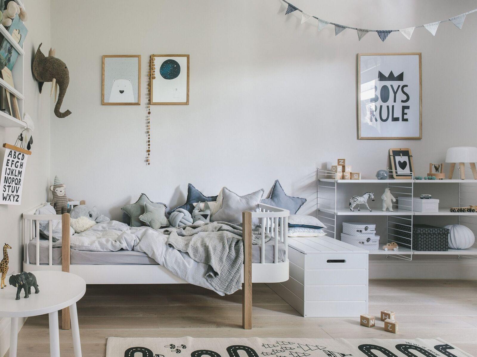 Inspirasi kamar tidur anak bergaya scandinavian - source: pinterest.com