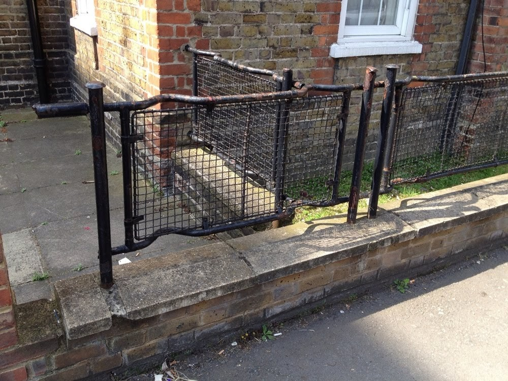 Stretcher fences, as macas usadas como cercas na Inglaterra