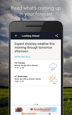 AccuWeather with Superior Accuracy™ - screenshot