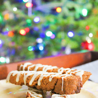 Gingerbread Skor Biscotti