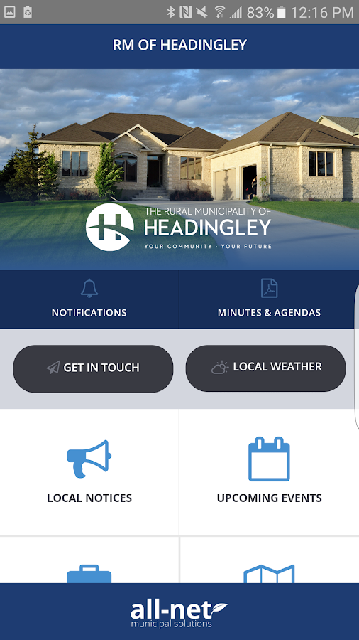 RM of Headingley- screenshot