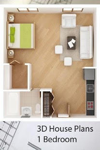3D House Plans 1 Bedroom Android Apps on Google Play