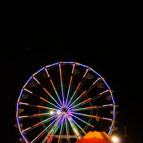 by K Dawn McDonald - City,  Street & Park  Amusement Parks