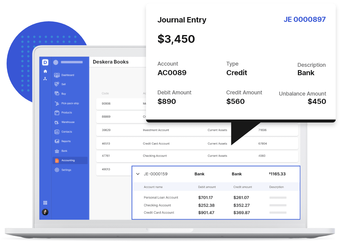Automated Journal Entries with Deskera