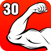 Arm Workouts - Strong Biceps in 30 Days at Home