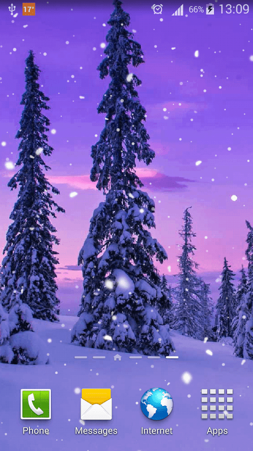 snow live wallpaper hd android apps on google play