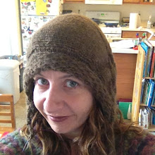 Photo: This shows the hat portion done and just one braided tie to go. Andes Del Campo yarn from Knit Picks