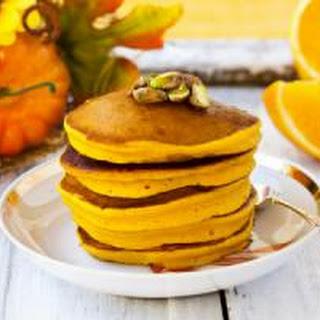 Jamaican Pumpkin Pancakes.