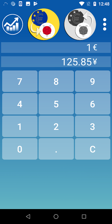 Yen Euro Currency Converter Android