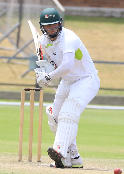 Captain Jon Jon Smuts in action for the Warriors against the Cape Cobras during the 4-Day Franchise Series match at St George's Park in Port Elizabeth.