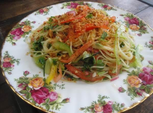Vegetable Relish Pasta Recipe