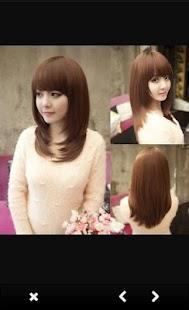 Korean Hairstyles For Women Screenshot Thumbnail
