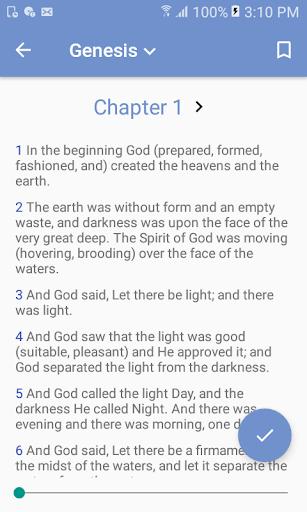 Amplified Bible 1.0 screenshots 2