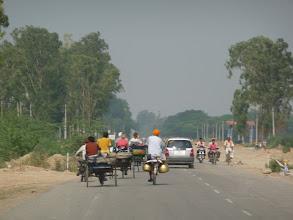 Photo: Cesta k indicko-pakistanske hranici