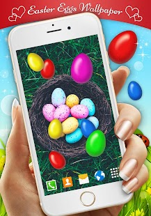 Easter Eggs Live Wallpaper - náhled