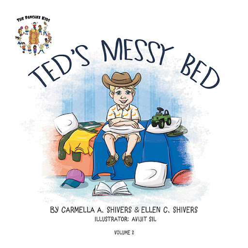 Ted's Messy Bed cover