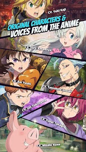 The Seven Deadly Sins: Grand Cross Mod 1.1.9 Apk [Unlimited Events] 2