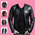 Man Leather Coat Photo Editor icon