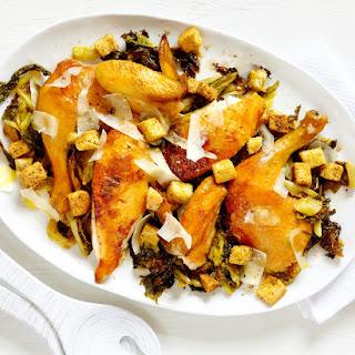 Whole Roast Chicken Caesar Salad.