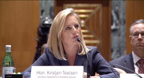 DHS Secretary Nielsen schools Democrat on obeying immigration law