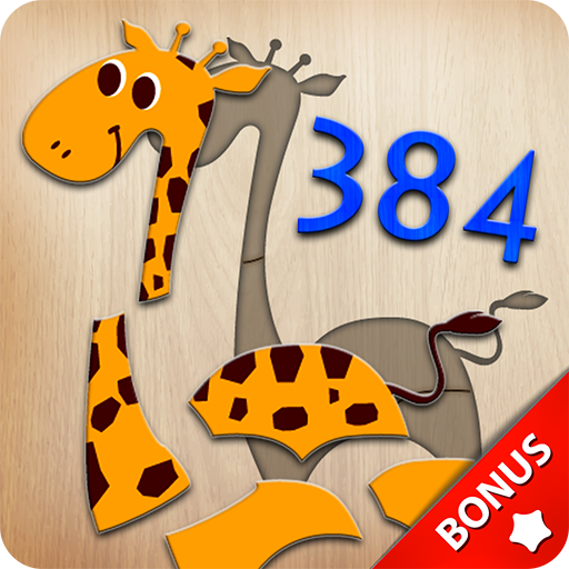 384 Puzzles for Preschool Kids - bonus games 🎁 (game)