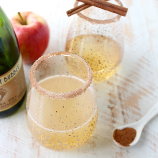Apple Cider Champagne Punch Recipe