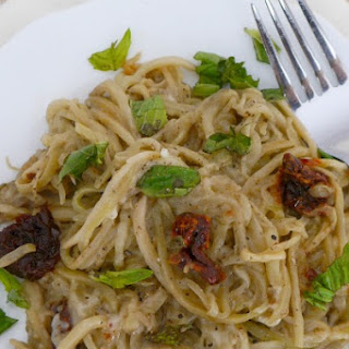 Low Carb Eggplant Noodles.