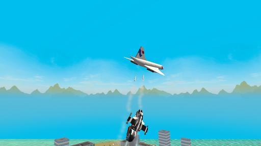 Flying Police Motorcycle Rider screenshot 2