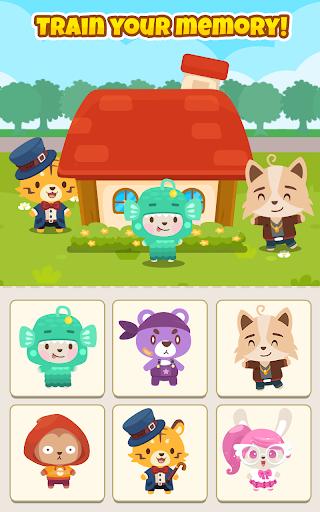 Happy Pet House: Memory Game