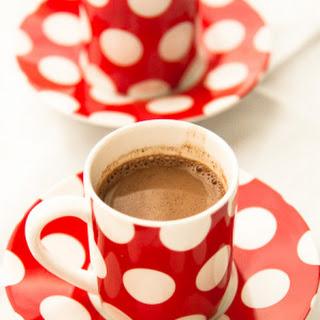 Almonds, Chocolate & Cinnamon In A Humble Hot Chocolate.