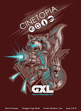 Photo: Front T-shirt design of _Guardians of the Galaxy_ for the Cinetopia theater chain.