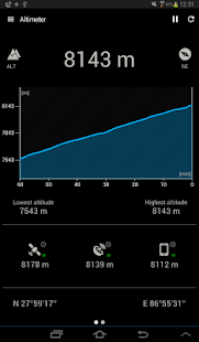 Altimeter Screenshot