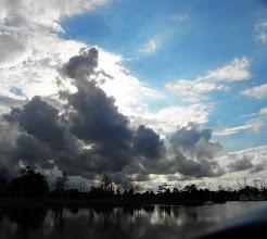 Photo: Storm clouds