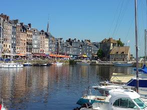 Photo: Le vieux bassin d'Honfleur (2010).