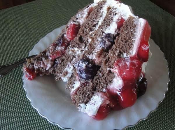 Susan's Black Forest Cake Recipe