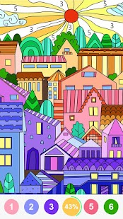 Pop Color   Coloring Pages Screenshot