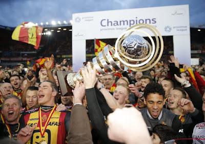 Onur Kaya, Rob Schoofs en Clément Tainmont leggen het uit na titel KV Mechelen tegen Beerschot-Wilrijk