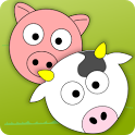 Cute Animal Life for Toddlers icon