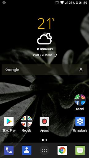 Simple weather & clock widget (no ads) screenshots 4
