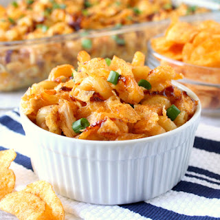 Barbecue Chicken Mac and Cheese