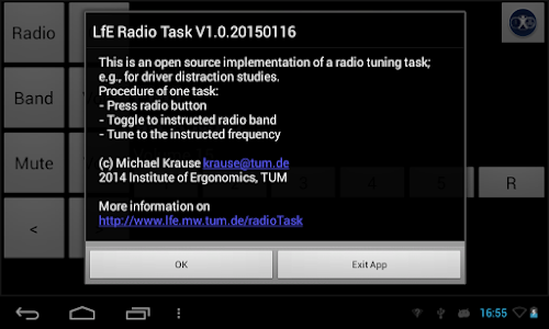 Radio Tuning Task screenshot 1
